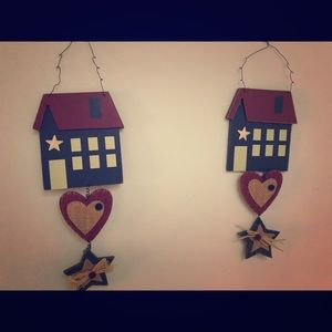 Country style wall hangings decor